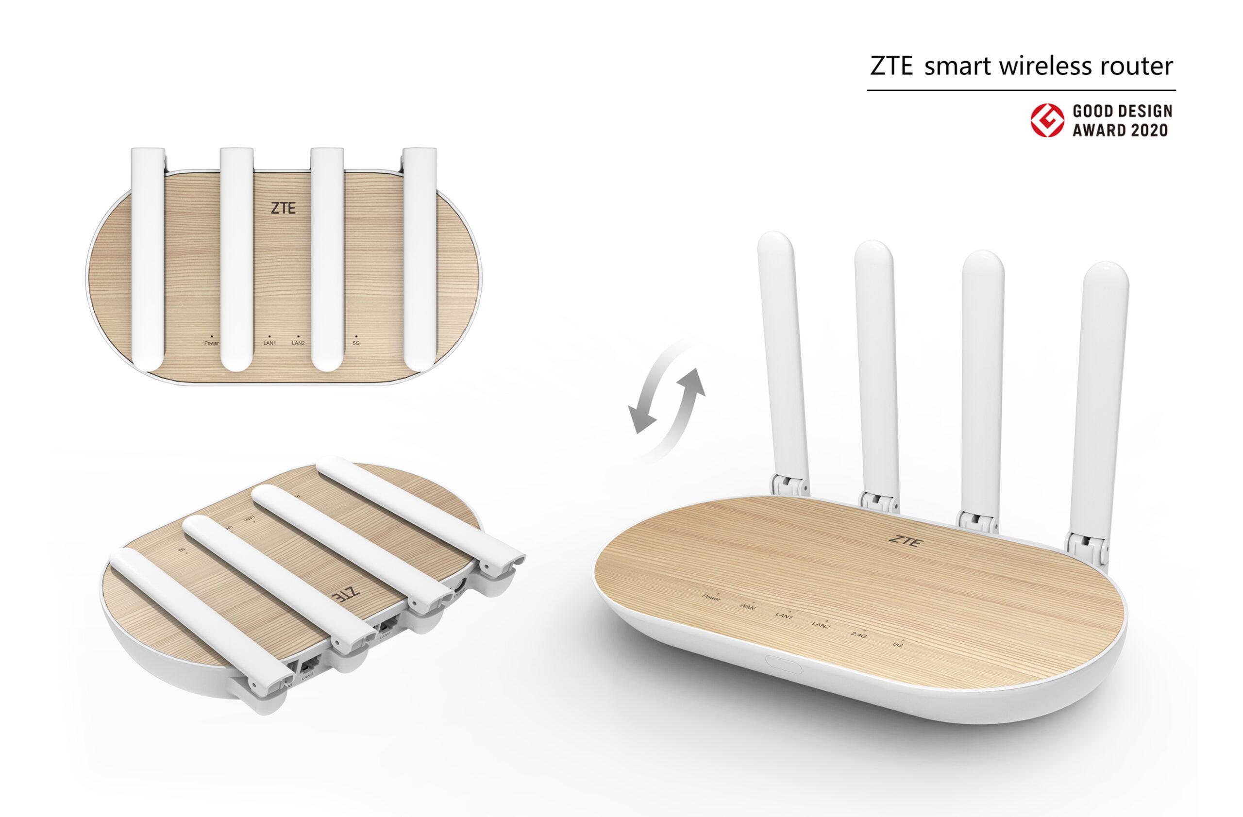 ZTE smart wireless router
